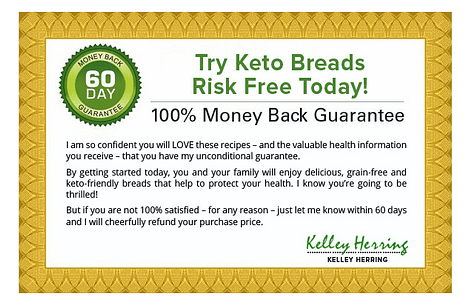 Keto Breads Book Review 2020 - Is it really good for health? 6